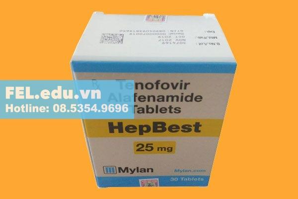 Tác dụng phụ của thuốc Hepbest