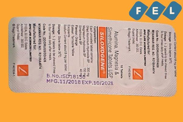 Vỉ thuốc Siloxogene