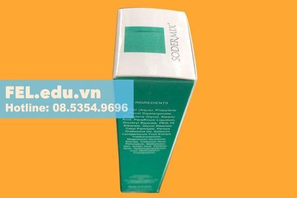 Chú ý và thận trọng khi sử dụng Kem trị sẹo Sodermix Cream 15g