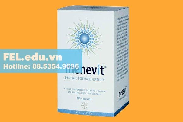Lưu ý khi sử dụng Menevit