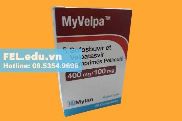 Tương tác với thuốc khác của Myvelpa