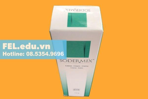 Chống chỉ định khi dùng Kem trị sẹo Sodermix Cream 15g