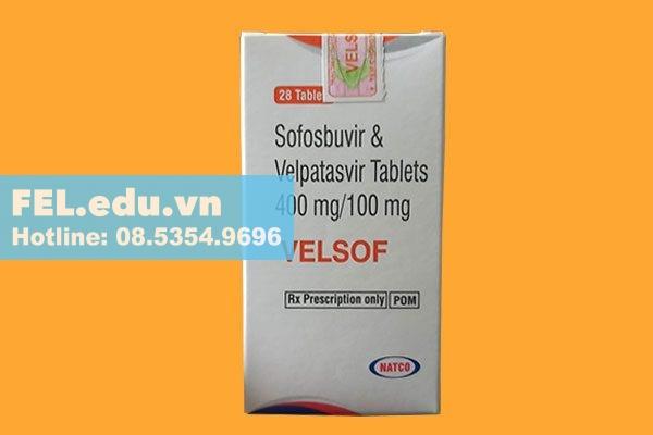 Tương tác của thuốc Velsof 400/100 với thuốc khác