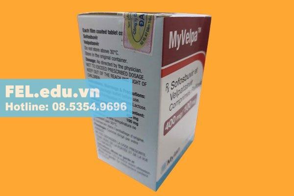Tác dụng phụ khi sử dụng Myvelpa