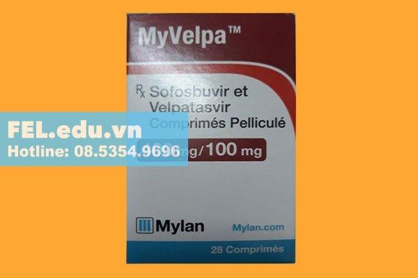 Myvelpa là thuốc gì?