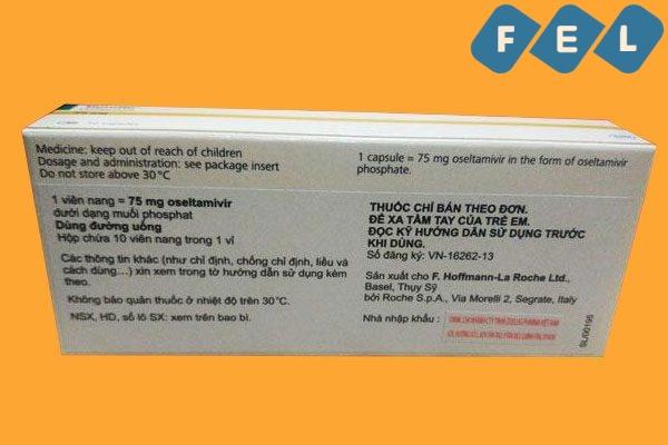 Liều dùng Tamiflu 75mg