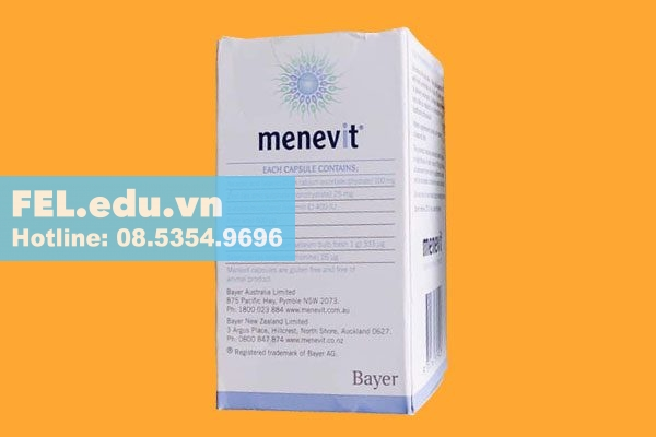 Chỉ định của Menevit