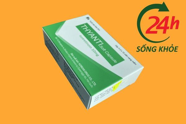 Tương tác thuốc của thuốc Thyanti