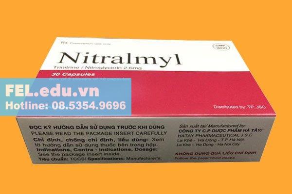 Tác dụng phụ khi sử dụng thuốc Nitralmyl 2.6mg