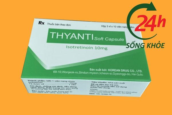Cách sử dụng và liều lượng thuốc Thyanti