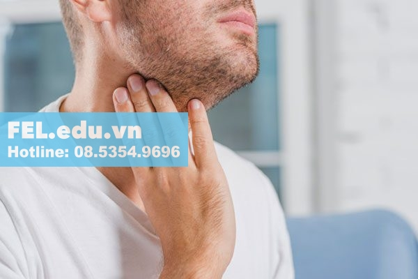 Liếm mút hột le có thể viêm họng do nguyên nhân lậu cầu khuẩn