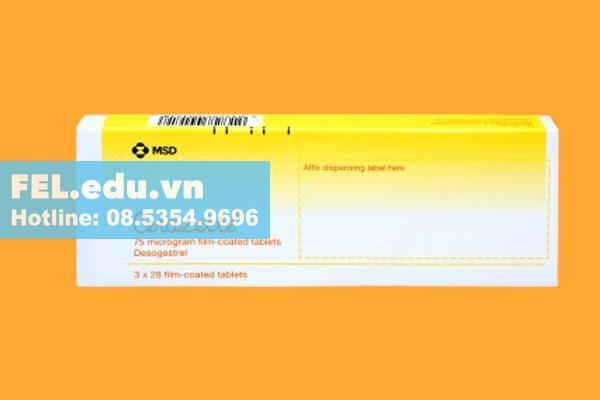 Thuốc tránh thai Cerazette