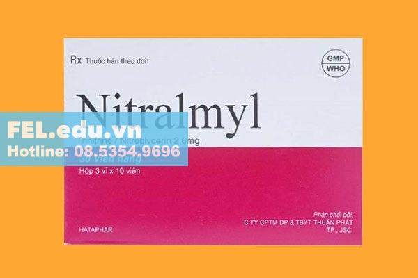Cách xử trí quá liều, quên liều thuốc Nitralmyl 2.6mg