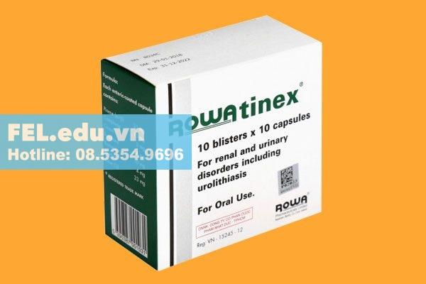 Thuốc Rowatinex là thuốc gì?