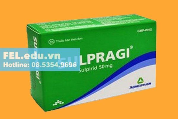 Chống chỉ định khi dùng thuốc Sulpragi 50mg