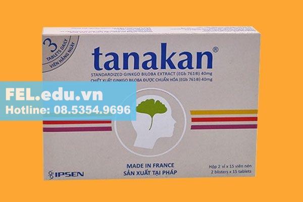 Thuốc Tanakan 40mg là thuốc gì?