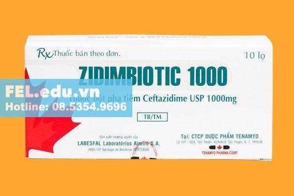 ThuốcZidimbiotic 1000 là thuốc gì?