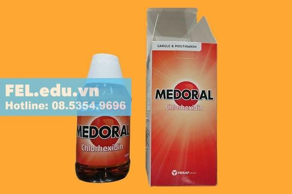 Tác dụng phụ của nước súc miệng Medoral
