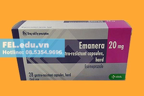 Chống chỉ định khi dùng Emanera 20mg