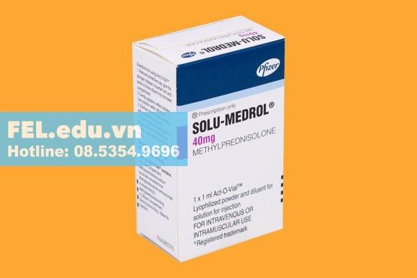 Chống chỉ định thuốc Solu Medrol 40mg