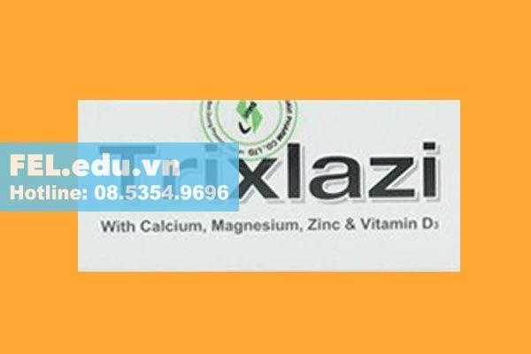 Tác dụng của thuốc Trixlazi