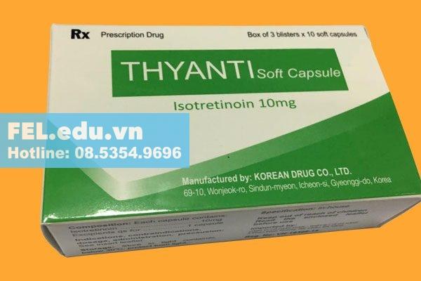 Thyanti có tác dụng gì?