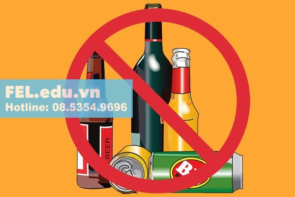 Không sử dụng chất kích thích khi dùng thuốc Solu Medrol 40mg