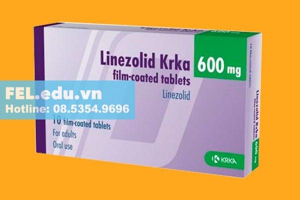 Linezolid Viên nén 600 mg