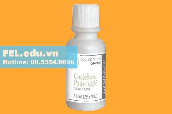 Tác dụng phụ của thuốc Castellani