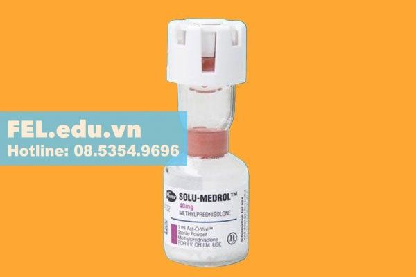Thuốc Solu Medrol 40mg