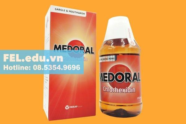 Nước súc miệng diệt khuẩn Medoral có tác dụng gì?