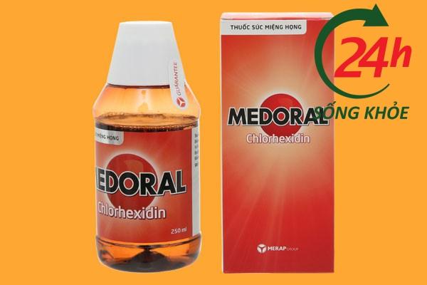 Thuốc súc miệng diệt khuẩn Medoral