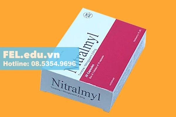 Cách dùng - Liều dùng của thuốc Nitralmyl 2.6mg