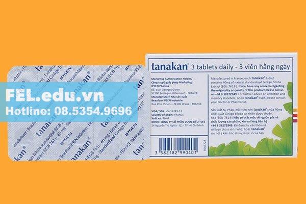Chống chỉ định khi dùng thuốc Tanakan 40mg