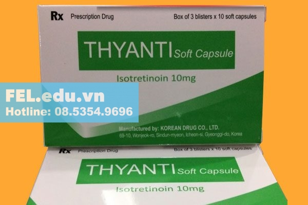Tác dụng phụ của thuốc Thyanti