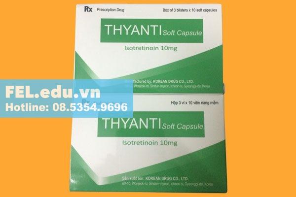 Thyanti là thuốc gì?
