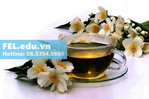 Tinh dầu hoa nhài dùng trong pha trà