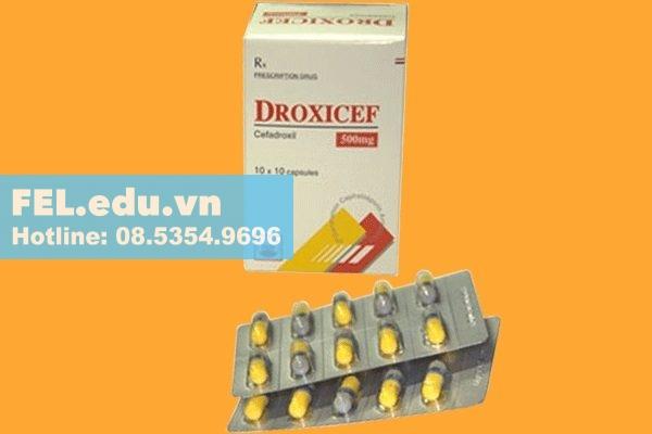 Thuốc Droxicef 500mg
