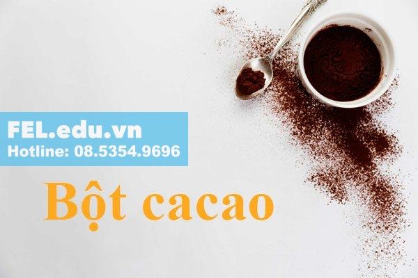 Bột Cacao kích thích dục năng