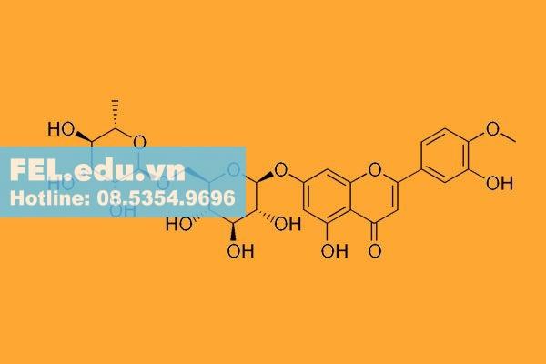 Cấu trúc phân tử diosmin