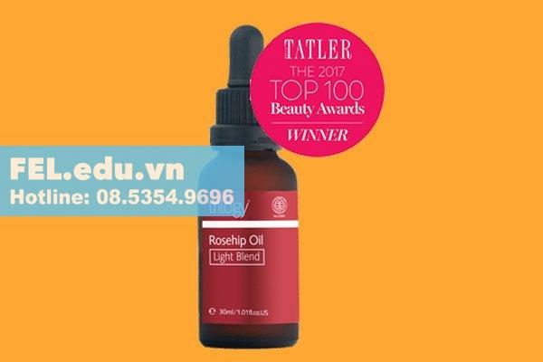 Rosehip Oil Light Blend- mỏng nhẹ hiệu quả