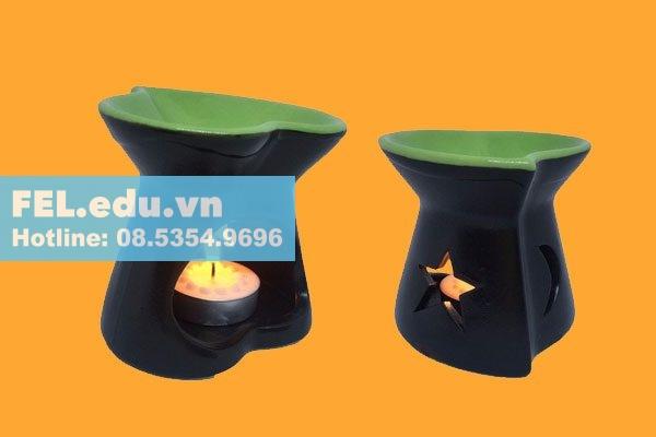 Cách dùng đèn xông tinh dầu nến