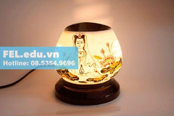 Nguyên lý hoạt động của đèn xông tinh dầu