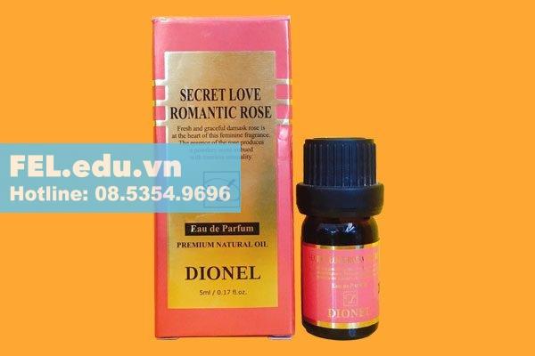 Nước hoa vùng kín Dionel Secret Love Romantic Rose