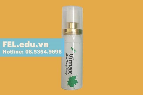 Chai xịt Vimax man delay spray