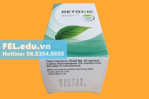 Hộp Detoxic