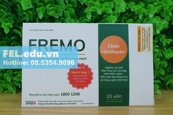Công dụng của từng thành phần trong FREMO