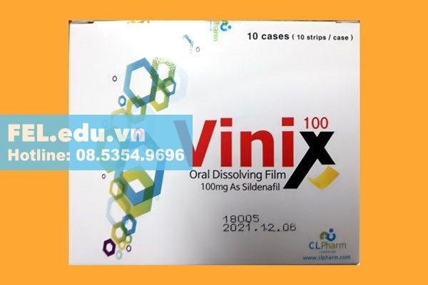 Tem ngậm Vinix 100 có tốt không?