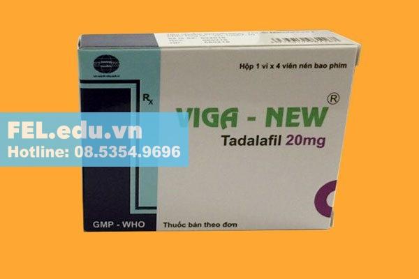 Hộp thuốc Viga new