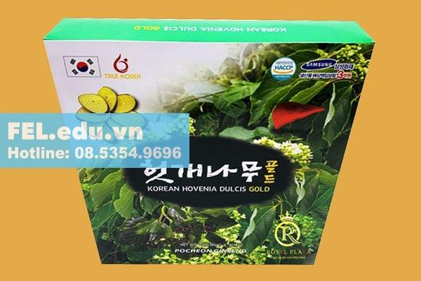 Nước giải rượu bia Hovenia Dulcis Hàn Quốc